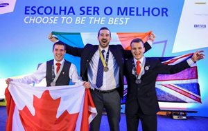 World Skills 2015 -  Gold Medal in Aircraft Maintenance